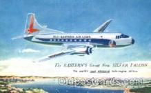 air001159 - Fly-Eastern Airlines, Silver Falcon Airline, Airlines, Airplane, Airplanes, Postcard Post Card