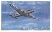 air001181 - United Airlines,DC-6 Airline, Airlines, Airplane, Airplanes, Postcard Post Card
