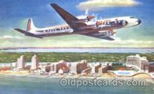 air001213 - Eastern Airlines, DC-7B Airline, Airlines, Airplane, Airplanes, Postcard Post Card