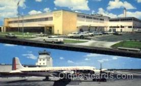 air001235 - St. Petersburgh Florida Post Office, Eastern Airline, Airlines, Airplane, Airplanes, Postcard Post Card