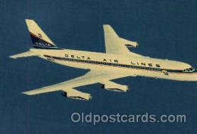 air001245 - Convair 880 Jetliner Airplane, Aviation, Postcard Post Card