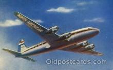 air001284 - North American Airlines 4 Engine Skymaster Airplane, Aviation, Postcard Post Card