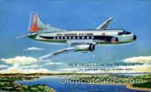 air001337 - Easters Silver Falcon Airplane, Aviation, Postcard Post Card