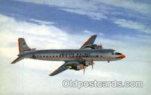 air001345 - American Airlines Mercury Airplane, Aviation, Postcard Post Card