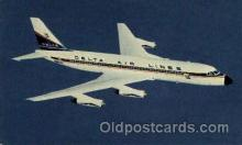 air001359 - Deltas Modern Jet Convair 880 Airplane, Aviation, Postcard Post Card