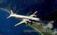 air001363 - America Airlines DC-7 Flagship  Airplane, Aviation, Postcard Post Card