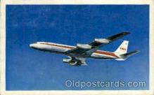 air001369 - TWA Star Stream  Airplane, Aviation, Postcard Post Card