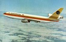 air001372 - Continental DC-10 Airplane, Aviation, Postcard Post Card
