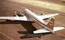 air001376 - Capital Airlines Douglas DC-6B Airplane, Aviation, Postcard Post Card