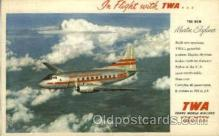 air001380 - New Martin Skyliner  Airplane, Aviation, Postcard Post Card