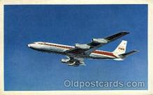 air001381 - TWA  Airplane, Aviation, Postcard Post Card