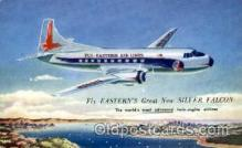 air001388 - Eastern Ailines The Silver Falcon  Airplane, Aviation, Postcard Post Card