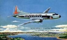 air001389 - Eastern Ailines The Silver Falcon  Airplane, Aviation, Postcard Post Card