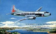 air001390 - Eastern Ailines The Silver Falcon  Airplane, Aviation, Postcard Post Card