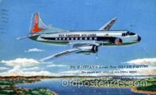 air001391 - Eastern Ailines The Silver Falcon  Airplane, Aviation, Postcard Post Card