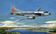 air001401 - Eastern Airlines The Silver Falcon Airplane, Aviation, Postcard Post Card
