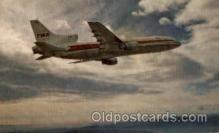 air001409 - TWA L- 1011 Airplane, Aviation, Postcard Post Card
