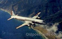 air001418 - America Airlines DC-7 Flagship  Airplane, Aviation, Postcard Post Card