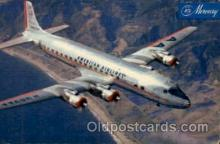 air001422 - American Airlines DC-7 Airplane, Aviation, Postcard Post Card