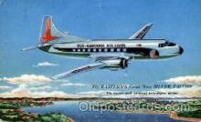 air001423 - The Silver Falcon  Airplane, Aviation, Postcard Post Card