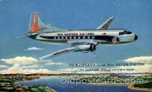 air001441 - The Silver Falcon  Airplane, Aviation, Postcard Post Card