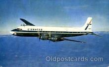 air001444 - United Airlines Four Engine DC-7 Mainliners  Airplane, Aviation, Postcard Post Card