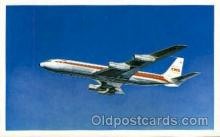 air001464 - TWA-Trans World Airlines Star Stream Airplane, Airport Post Card, Post Card