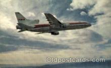 air001475 - TWA-Trans World Airlines L-1011 Airplane, Airport Post Card, Post Card