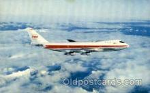 air001478 - TWA-Trans World Airlines Airplane, Airport Post Card, Post Card
