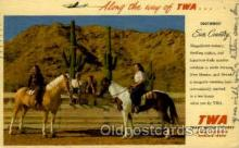 air001605 - Trans World Airline Airplane, Airport Post Card, Post Card