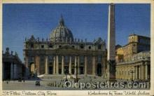 air001621 - Trans World Airline S.t Peter's, Vatican City, Rome Airplane, Airport Post Card, Post Card