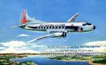 air001652 - Eastern Airlines Silver Falcon Airplane, Airlines, Old Vintage Antique Postcard Post Card