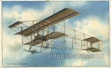 air001657 - The Ferman Biplane Airplane, Airlines, Old Vintage Antique Postcard Post Card