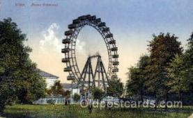 amp000004 - Prater Riessenrad, Wien, Austria Amusment Park, Fairgrounds, Postcard Post Card
