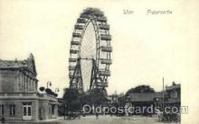 amp000005 - Praterpartie, Wien, Austria Amusment Park, Fairgrounds, Postcard Post Card