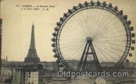 La Grande Roue et la Tour Eiffel, Paris, France
