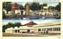 amp001007 - Walbridge Park Amusement Center Park Postcard Post Card