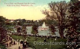 amp001016 - Willow Grove Park, Philidelphia, PA USA Postcard Post Card