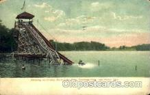 amp001037 - Silver lake Park, Cuyahoga Falls, near Akron, Ohio, Postcard Post Card