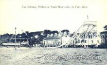 amp001043 - The Schutes, Wildwood, White Bear Lake, St. Paul, Minn. Roller Coaster Postcard Post Card