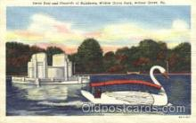amp001060 - Willow Grove, Pennsylvania, PA, USA, Amusement Park Postcard Post Card