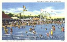amp001080 - Indiana Beach, Indiana, IN, USA, Amusement Park Postcard Post Card