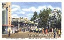 amp001081 - Denver, Colorado, CO, USA, Amusement Park Postcard Post Card