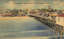 amp001100 - Old Orchard Beach, Maine USA Old Orchard Beach, Maine USA Amusement Park Post Card Post Card