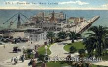 amp001108 - Pleasure Pier Santa Monica, California Amusement Park Post Card Post Card