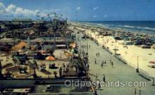 amp001112 - Dayton Beach Boardwalk Amusement Park Post Card Post Card