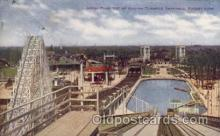 amp001115 - Top of Chutes Forest Park Amusement Park Post Card Post Card
