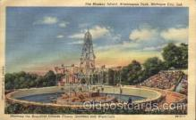 amp001119 - Washington Park, Michigan City, Ind, USA Monkey Island, Washington Park, Michigan City, Indiana Amusement Park Post Card Post Card