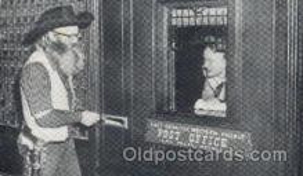 amp001160 - Last Frontier Western Village Post Office, Las Vegas, NV USA Amusement Park Parks, Postcard Post Card