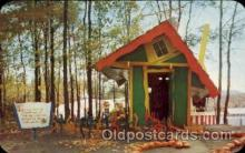 amp001172 - The Enchanted Forest, Old Forge, NY USA Amusement Park Parks, Postcard Post Card